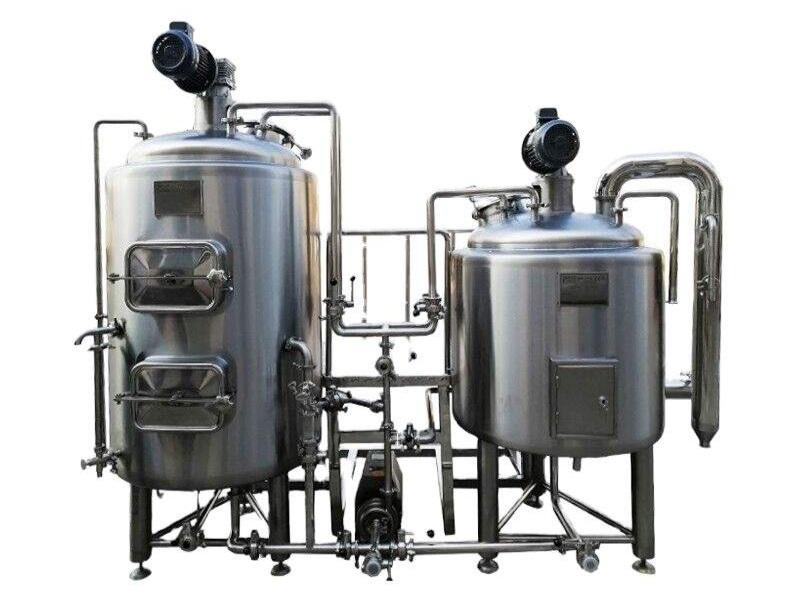 Kvalitetna domača pivovarna za varjenje 200 litrov piva na dan je lahko vaša za razumen znesek